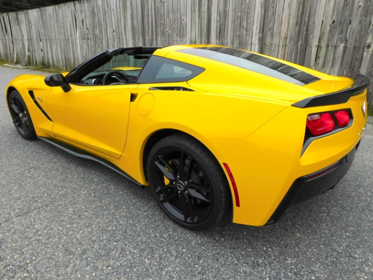 Used 2015 Chevrolet Corvette Stingray Z51 Cpe w/2LT Used 2015 Chevrolet Corvette Stingray Z51 Cpe w/2LT for sale  at Metro West Motorcars LLC in Shrewsbury MA 4