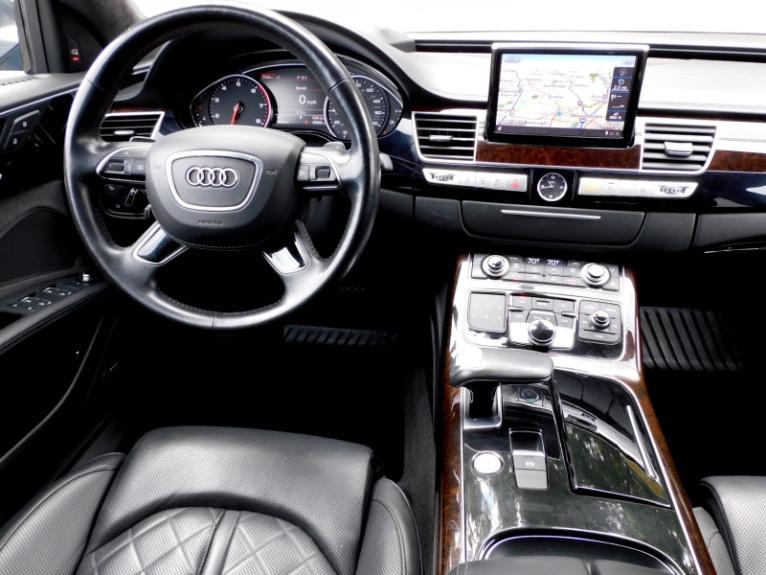 Used 2017 Audi A8 l 4.0 TFSI Quattro Sport Used 2017 Audi A8 l 4.0 TFSI Quattro Sport for sale  at Metro West Motorcars LLC in Shrewsbury MA 10