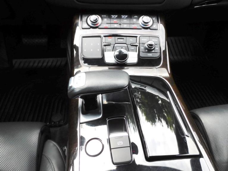 Used 2017 Audi A8 l 4.0 TFSI Quattro Sport Used 2017 Audi A8 l 4.0 TFSI Quattro Sport for sale  at Metro West Motorcars LLC in Shrewsbury MA 12