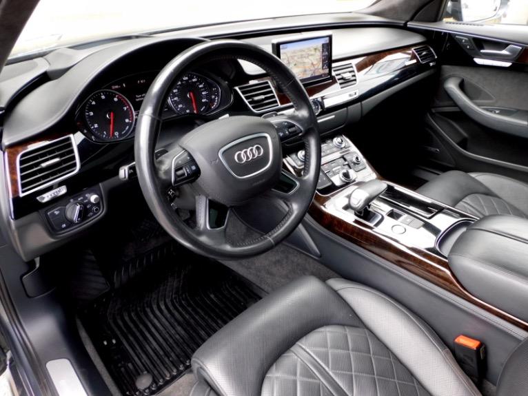 Used 2017 Audi A8 l 4.0 TFSI Quattro Sport Used 2017 Audi A8 l 4.0 TFSI Quattro Sport for sale  at Metro West Motorcars LLC in Shrewsbury MA 13