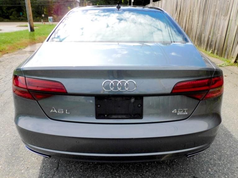 Used 2017 Audi A8 l 4.0 TFSI Quattro Sport Used 2017 Audi A8 l 4.0 TFSI Quattro Sport for sale  at Metro West Motorcars LLC in Shrewsbury MA 4