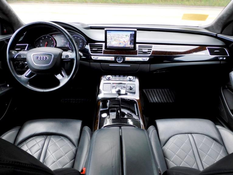 Used 2017 Audi A8 l 4.0 TFSI Quattro Sport Used 2017 Audi A8 l 4.0 TFSI Quattro Sport for sale  at Metro West Motorcars LLC in Shrewsbury MA 9
