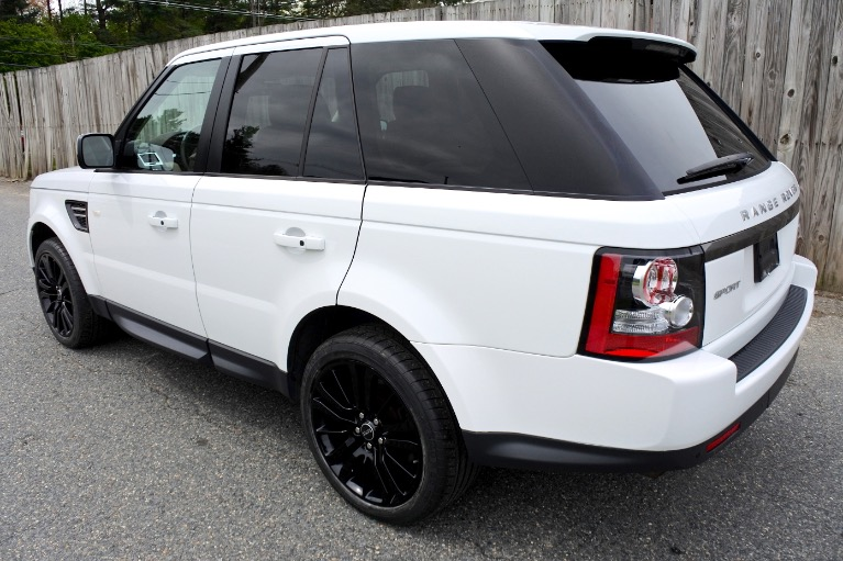 Used 2013 Land Rover Range Rover Sport HSE Used 2013 Land Rover Range Rover Sport HSE for sale  at Metro West Motorcars LLC in Shrewsbury MA 3