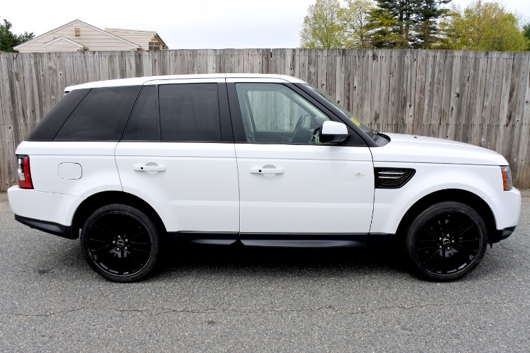 Used 2013 Land Rover Range Rover Sport HSE Used 2013 Land Rover Range Rover Sport HSE for sale  at Metro West Motorcars LLC in Shrewsbury MA 6