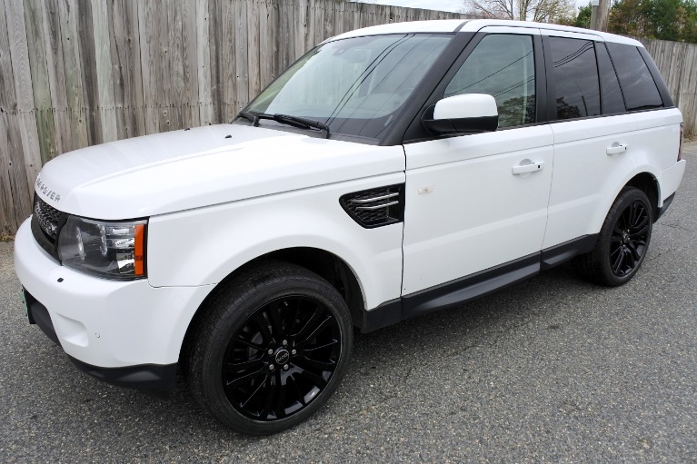 Used Used 2013 Land Rover Range Rover Sport HSE for sale $17,800 at Metro West Motorcars LLC in Shrewsbury MA