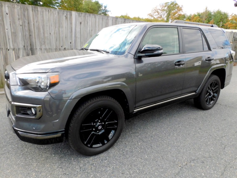 Used Used 2019 Toyota 4runner Limited Nightshade 4WD (Natl) for sale $52,800 at Metro West Motorcars LLC in Shrewsbury MA
