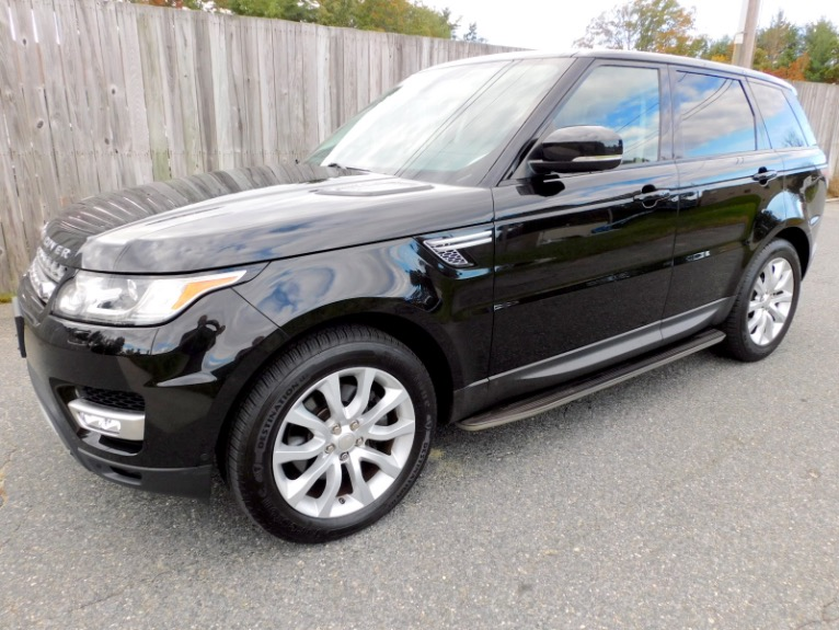 Used Used 2015 Land Rover Range Rover Sport HSE for sale $38,800 at Metro West Motorcars LLC in Shrewsbury MA