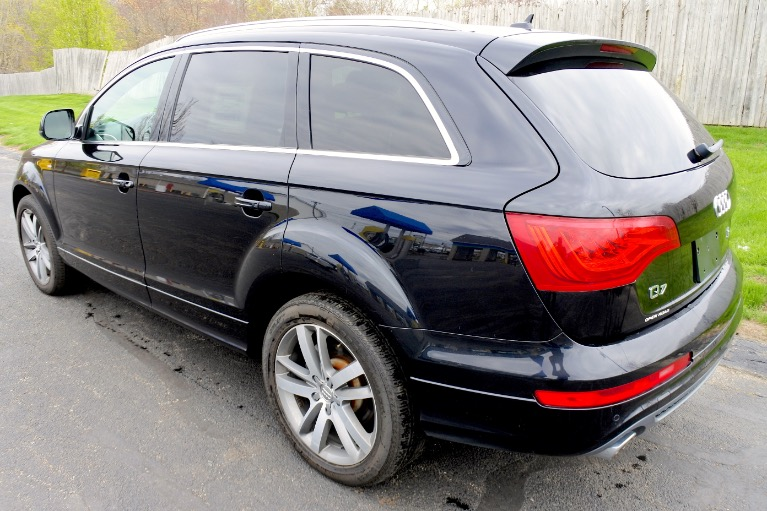 Used 2011 Audi Q7 TDI S Line Prestige Quattro Used 2011 Audi Q7 TDI S Line Prestige Quattro for sale  at Metro West Motorcars LLC in Shrewsbury MA 3