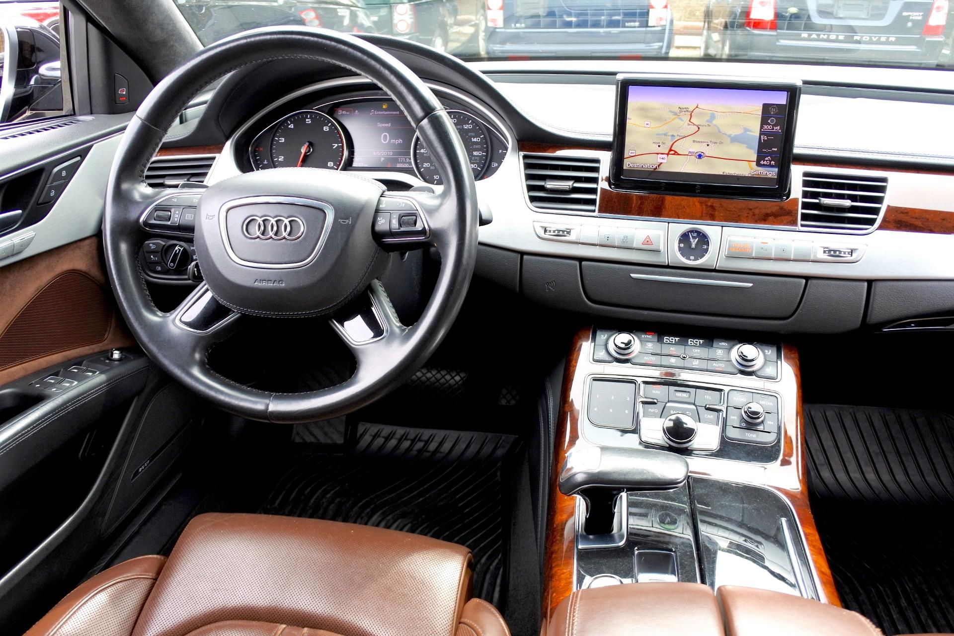 Used 2012 Audi A8 l W12 Quattro Used 2012 Audi A8 l W12 Quattro for sale  at Metro West Motorcars LLC in Shrewsbury MA 10