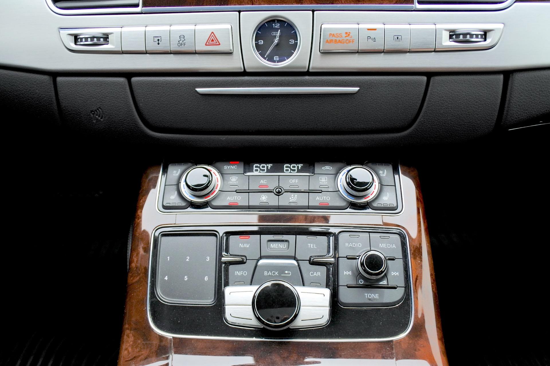 Used 2012 Audi A8 l W12 Quattro Used 2012 Audi A8 l W12 Quattro for sale  at Metro West Motorcars LLC in Shrewsbury MA 12