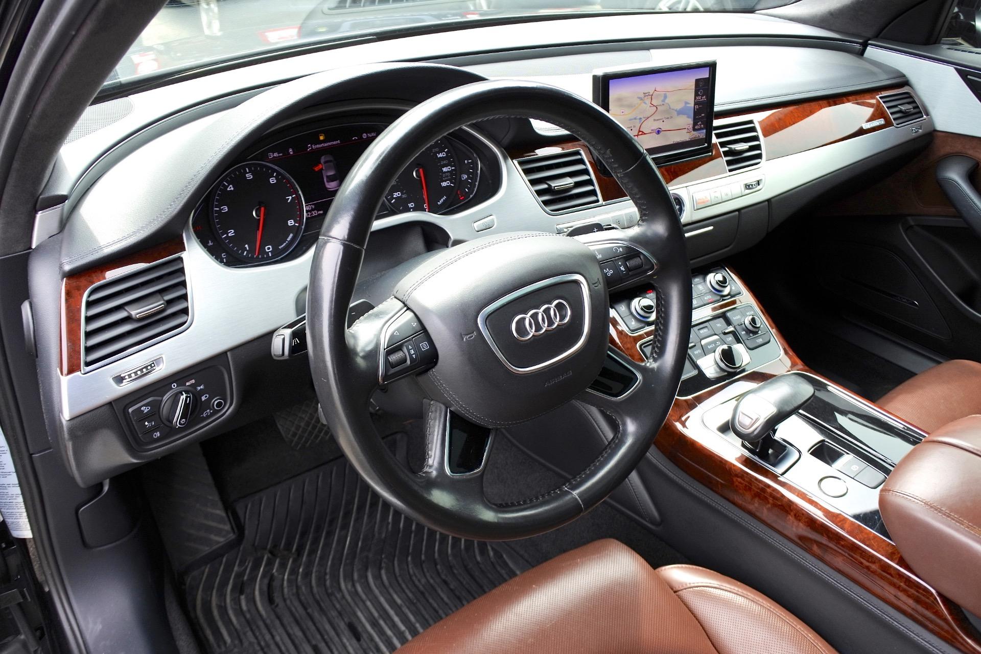 Used 2012 Audi A8 l W12 Quattro Used 2012 Audi A8 l W12 Quattro for sale  at Metro West Motorcars LLC in Shrewsbury MA 14