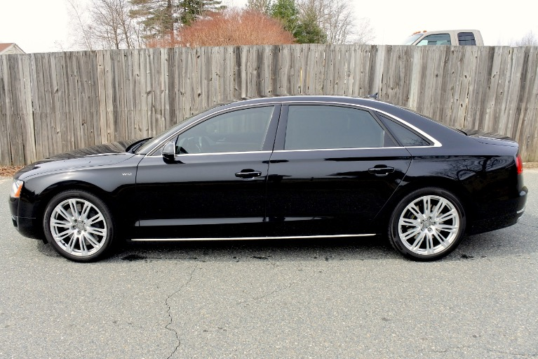 Used 2012 Audi A8 l W12 Quattro Used 2012 Audi A8 l W12 Quattro for sale  at Metro West Motorcars LLC in Shrewsbury MA 2