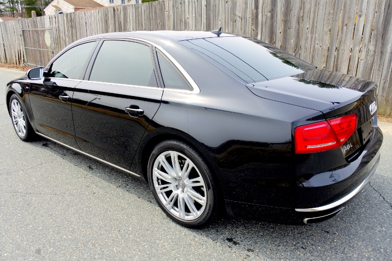 Used 2012 Audi A8 l W12 Quattro Used 2012 Audi A8 l W12 Quattro for sale  at Metro West Motorcars LLC in Shrewsbury MA 3