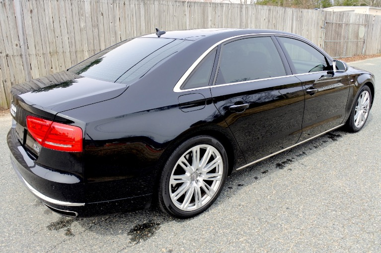 Used 2012 Audi A8 l W12 Quattro Used 2012 Audi A8 l W12 Quattro for sale  at Metro West Motorcars LLC in Shrewsbury MA 5