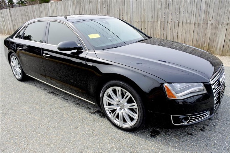 Used 2012 Audi A8 l W12 Quattro Used 2012 Audi A8 l W12 Quattro for sale  at Metro West Motorcars LLC in Shrewsbury MA 7