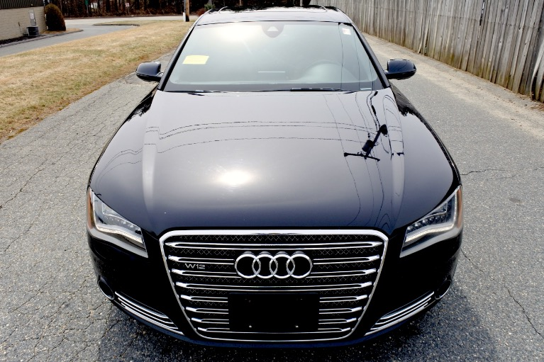 Used 2012 Audi A8 l W12 Quattro Used 2012 Audi A8 l W12 Quattro for sale  at Metro West Motorcars LLC in Shrewsbury MA 8