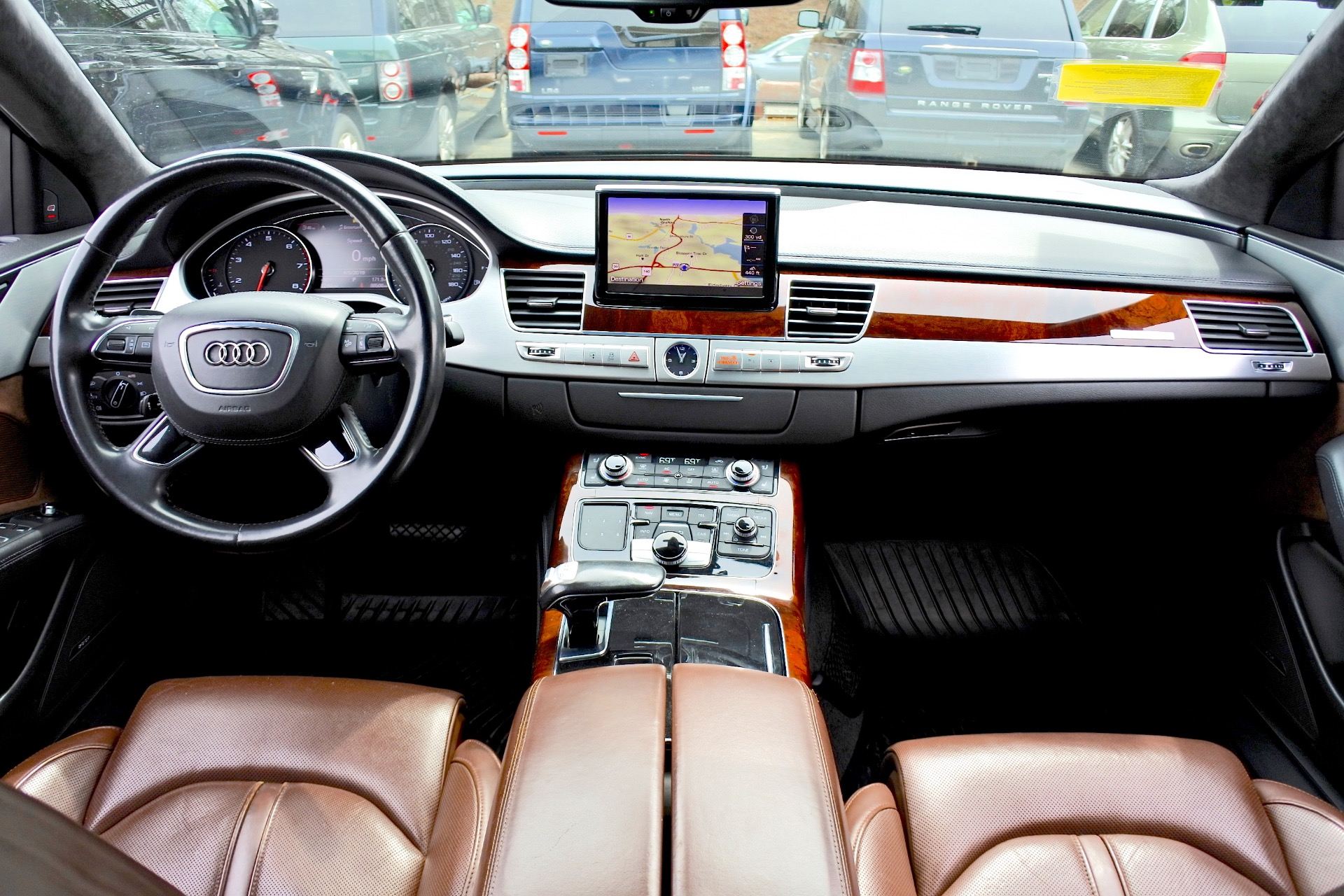 Used 2012 Audi A8 l W12 Quattro Used 2012 Audi A8 l W12 Quattro for sale  at Metro West Motorcars LLC in Shrewsbury MA 9