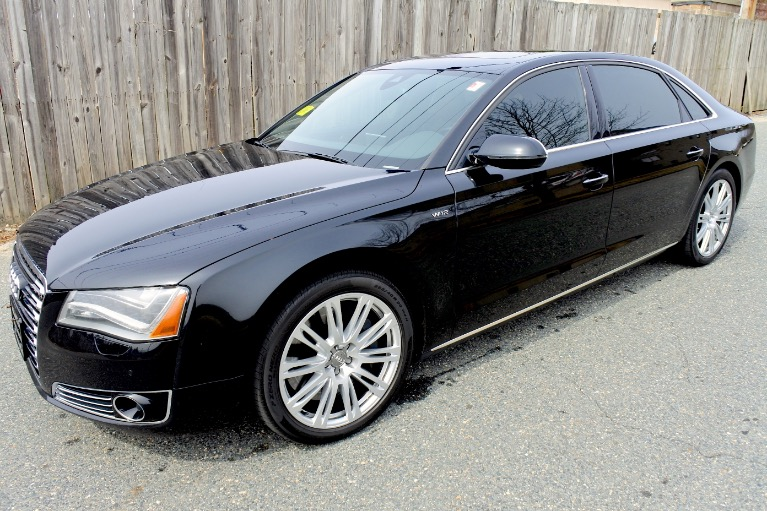 Used 2012 Audi A8 l W12 Quattro Used 2012 Audi A8 l W12 Quattro for sale  at Metro West Motorcars LLC in Shrewsbury MA 1