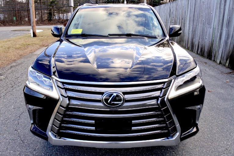 Used 2017 Lexus Lx LX 570 4WD Used 2017 Lexus Lx LX 570 4WD for sale  at Metro West Motorcars LLC in Shrewsbury MA 8