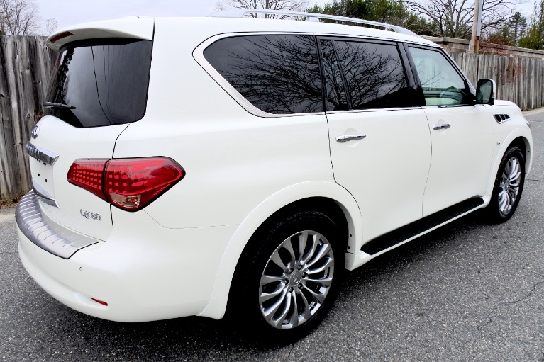 Used 2015 Infiniti Qx80 Limited 4WD Used 2015 Infiniti Qx80 Limited 4WD for sale  at Metro West Motorcars LLC in Shrewsbury MA 5