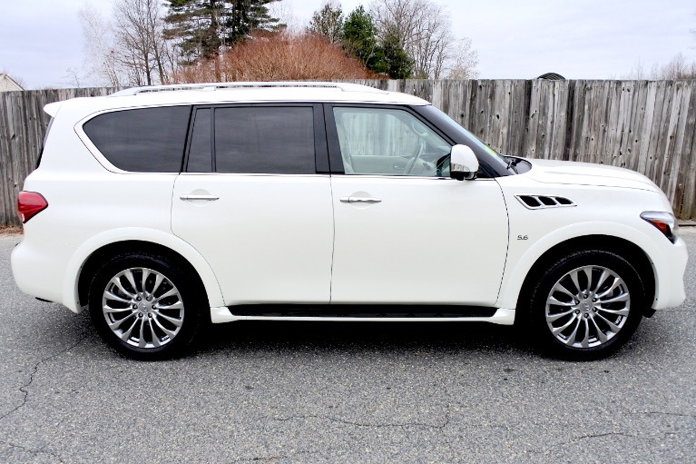 Used 2015 Infiniti Qx80 Limited 4WD Used 2015 Infiniti Qx80 Limited 4WD for sale  at Metro West Motorcars LLC in Shrewsbury MA 6