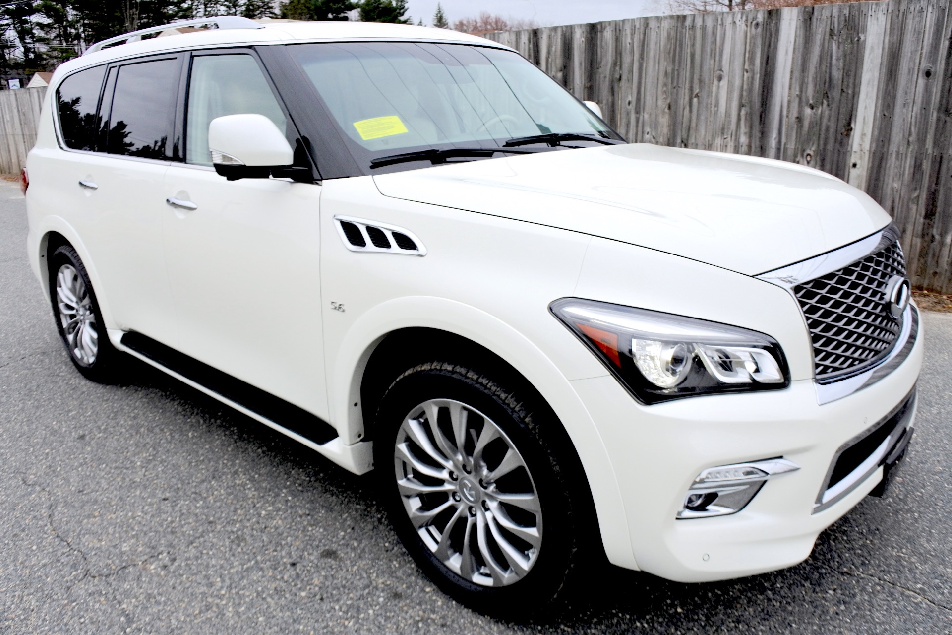 Used 2015 Infiniti Qx80 Limited 4WD Used 2015 Infiniti Qx80 Limited 4WD for sale  at Metro West Motorcars LLC in Shrewsbury MA 7