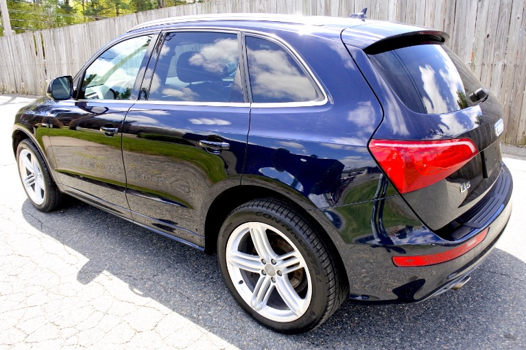 Used 2010 Audi Q5 Premium Plus S-Line Quattro Used 2010 Audi Q5 Premium Plus S-Line Quattro for sale  at Metro West Motorcars LLC in Shrewsbury MA 3