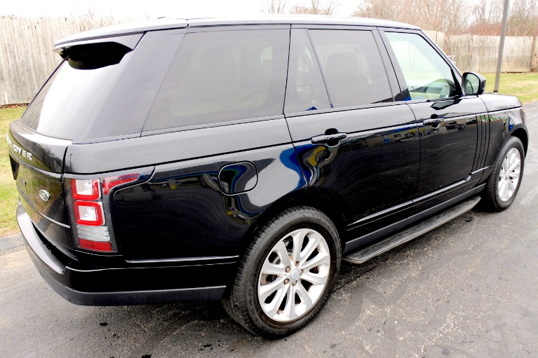 Used 2015 Land Rover Range Rover HSE Used 2015 Land Rover Range Rover HSE for sale  at Metro West Motorcars LLC in Shrewsbury MA 5