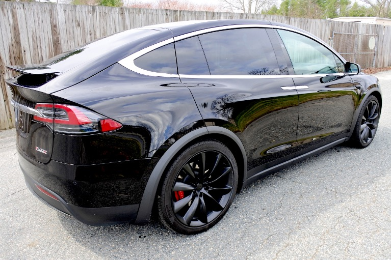 Used 2018 Tesla Model x P100D AWD Used 2018 Tesla Model x P100D AWD for sale  at Metro West Motorcars LLC in Shrewsbury MA 5