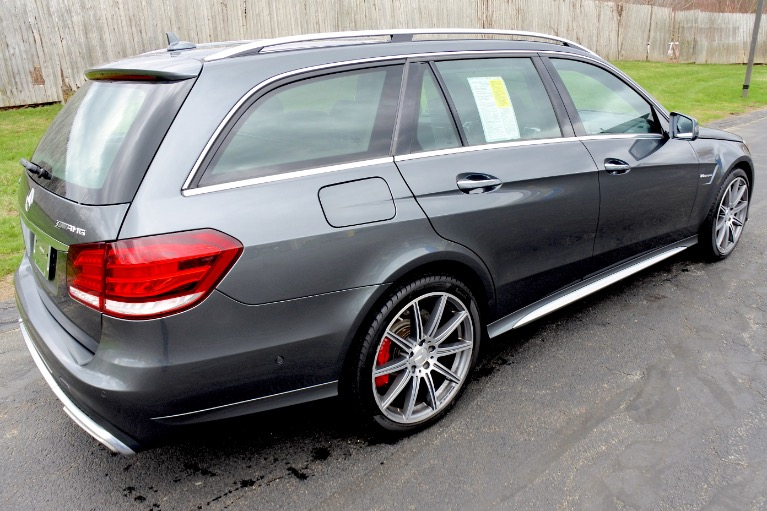 Used 2014 Mercedes-Benz E-class E63 S AMG Wagon 4MATIC Used 2014 Mercedes-Benz E-class E63 S AMG Wagon 4MATIC for sale  at Metro West Motorcars LLC in Shrewsbury MA 3