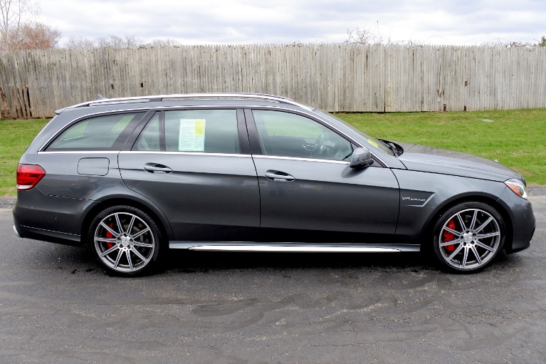 Used 2014 Mercedes-Benz E-class E63 S AMG Wagon 4MATIC Used 2014 Mercedes-Benz E-class E63 S AMG Wagon 4MATIC for sale  at Metro West Motorcars LLC in Shrewsbury MA 4