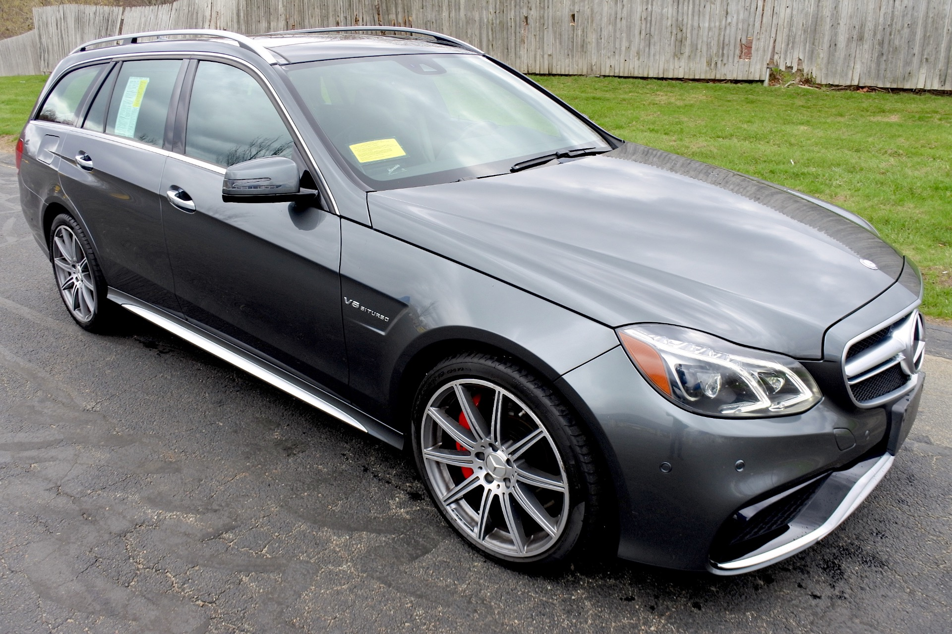 Used 2014 Mercedes-Benz E-class E63 S AMG Wagon 4MATIC Used 2014 Mercedes-Benz E-class E63 S AMG Wagon 4MATIC for sale  at Metro West Motorcars LLC in Shrewsbury MA 5
