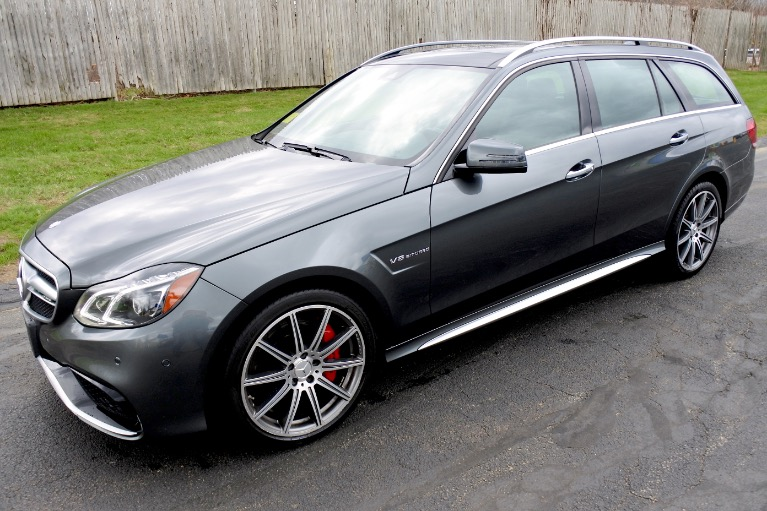 Used Used 2014 Mercedes-Benz E-class E63 S AMG Wagon 4MATIC for sale $49,950 at Metro West Motorcars LLC in Shrewsbury MA