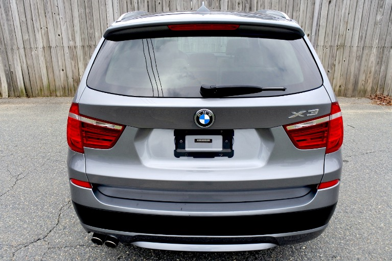 Used 2013 BMW X3 xDrive28i AWD Used 2013 BMW X3 xDrive28i AWD for sale  at Metro West Motorcars LLC in Shrewsbury MA 4