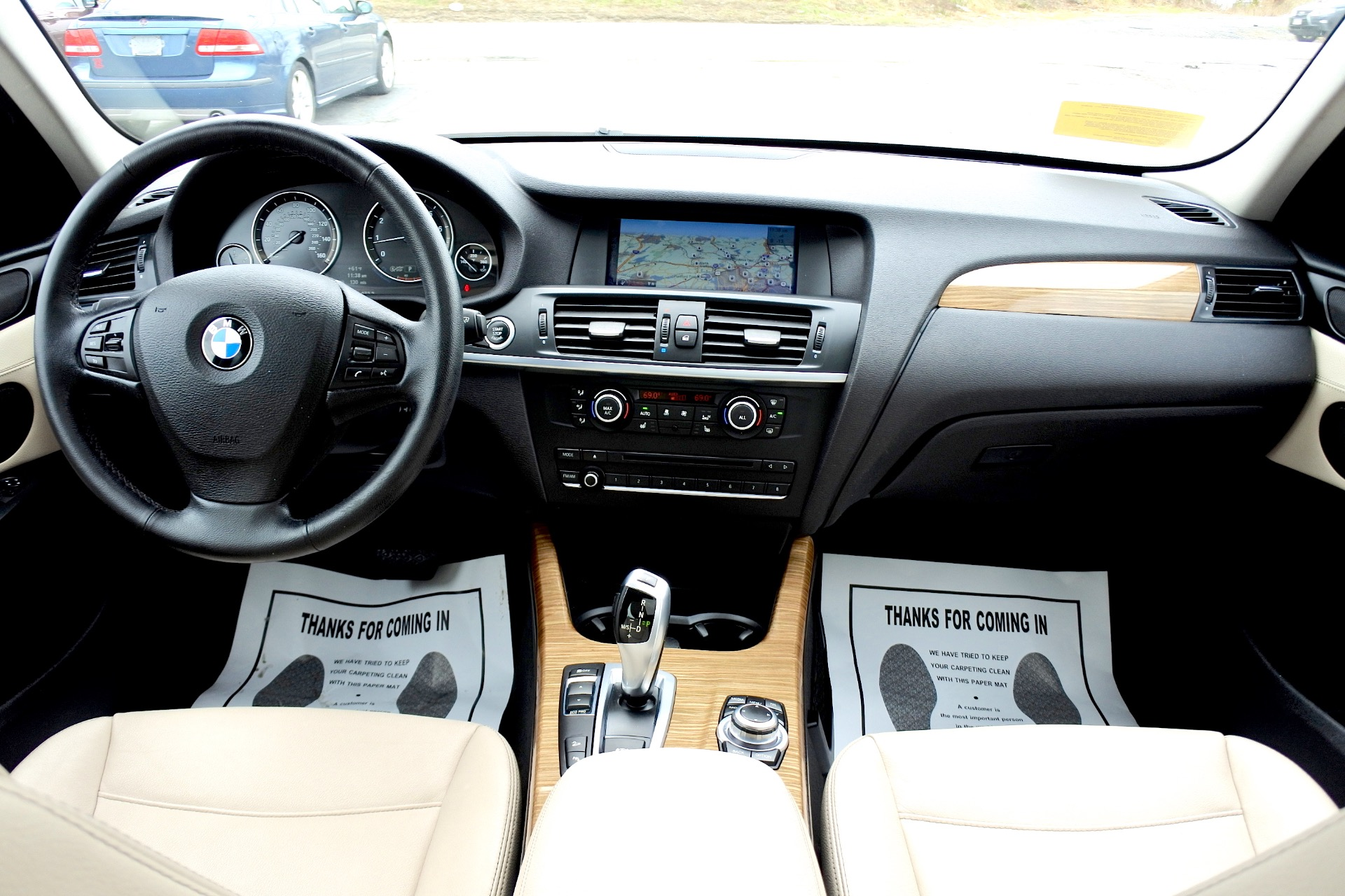 Used 2013 BMW X3 xDrive28i AWD Used 2013 BMW X3 xDrive28i AWD for sale  at Metro West Motorcars LLC in Shrewsbury MA 9