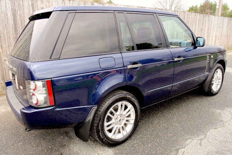 Used 2011 Land Rover Range Rover HSE Used 2011 Land Rover Range Rover HSE for sale  at Metro West Motorcars LLC in Shrewsbury MA 5
