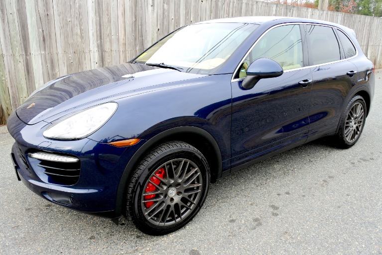 Used 2011 Porsche Cayenne Turbo AWD Used 2011 Porsche Cayenne Turbo AWD for sale  at Metro West Motorcars LLC in Shrewsbury MA 1