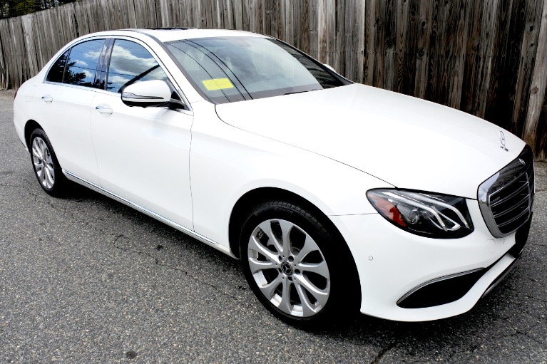 Used 2019 Mercedes-Benz E-class E 300 4MATIC Used 2019 Mercedes-Benz E-class E 300 4MATIC for sale  at Metro West Motorcars LLC in Shrewsbury MA 7