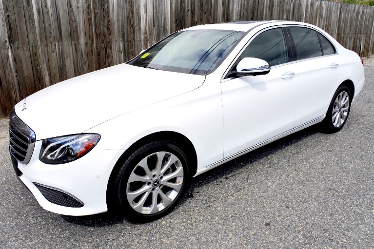 Used 2019 Mercedes-Benz E-class E 300 4MATIC Used 2019 Mercedes-Benz E-class E 300 4MATIC for sale  at Metro West Motorcars LLC in Shrewsbury MA 1