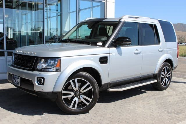 Used Used 2016 Land Rover Lr4 4WD 4dr HSE LUX Landmark Edition for sale $38,770 at Metro West Motorcars LLC in Shrewsbury MA