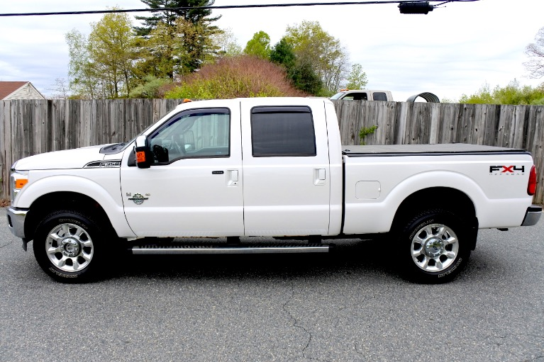 Used 2011 Ford Super Duty F-350 Srw 4WD Crew Cab 156' Lariat Used 2011 Ford Super Duty F-350 Srw 4WD Crew Cab 156' Lariat for sale  at Metro West Motorcars LLC in Shrewsbury MA 2