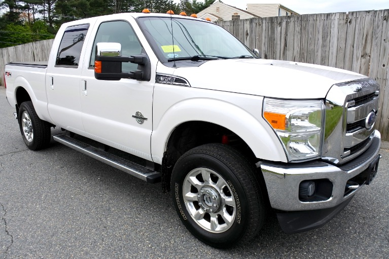 Used 2011 Ford Super Duty F-350 Srw 4WD Crew Cab 156' Lariat Used 2011 Ford Super Duty F-350 Srw 4WD Crew Cab 156' Lariat for sale  at Metro West Motorcars LLC in Shrewsbury MA 7