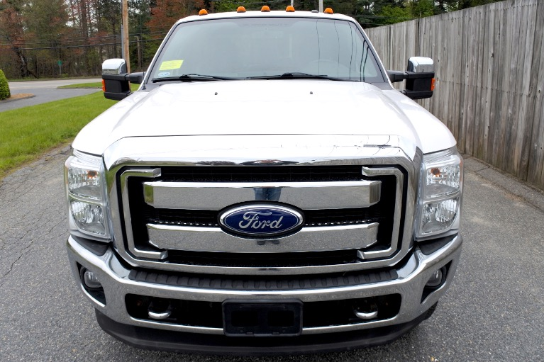 Used 2011 Ford Super Duty F-350 Srw 4WD Crew Cab 156' Lariat Used 2011 Ford Super Duty F-350 Srw 4WD Crew Cab 156' Lariat for sale  at Metro West Motorcars LLC in Shrewsbury MA 8