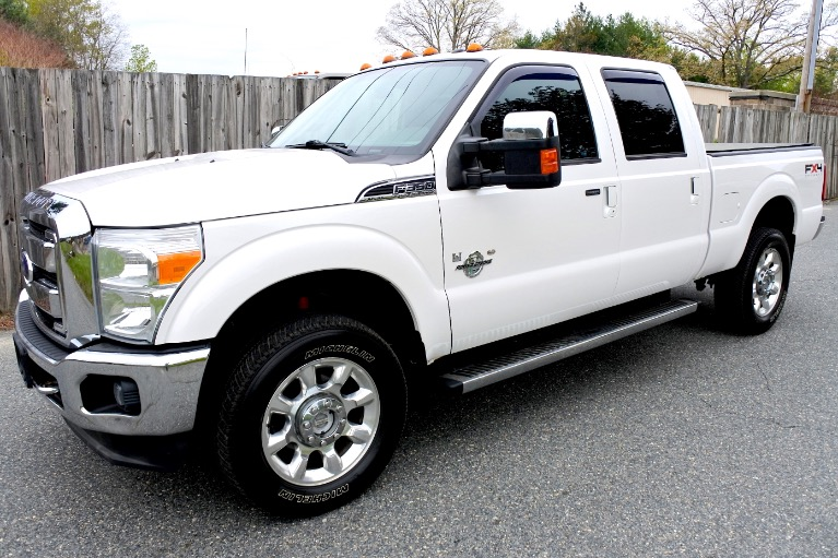 Used 2011 Ford Super Duty F-350 Srw 4WD Crew Cab 156' Lariat Used 2011 Ford Super Duty F-350 Srw 4WD Crew Cab 156' Lariat for sale  at Metro West Motorcars LLC in Shrewsbury MA 1