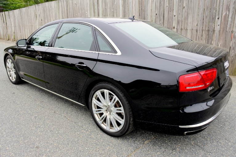Used 2013 Audi A8 l 4.0L Quattro Used 2013 Audi A8 l 4.0L Quattro for sale  at Metro West Motorcars LLC in Shrewsbury MA 3