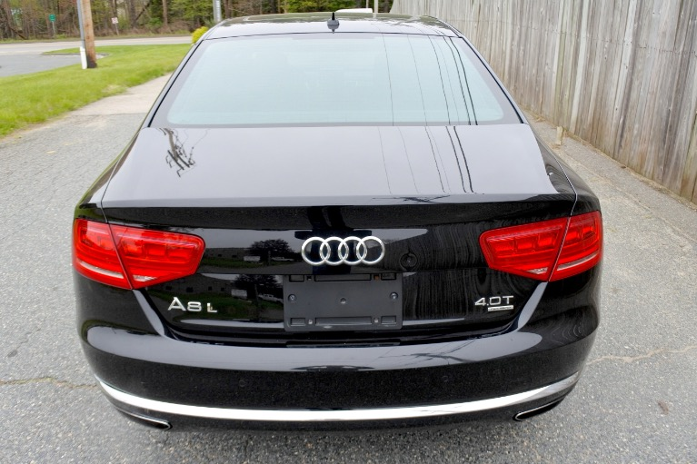 Used 2013 Audi A8 l 4.0L Quattro Used 2013 Audi A8 l 4.0L Quattro for sale  at Metro West Motorcars LLC in Shrewsbury MA 4
