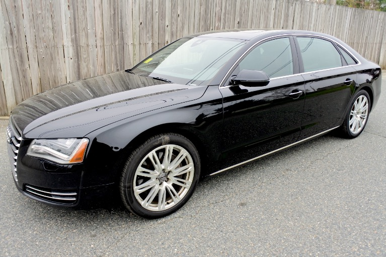 Used Used 2013 Audi A8 l 4.0L Quattro for sale $21,770 at Metro West Motorcars LLC in Shrewsbury MA