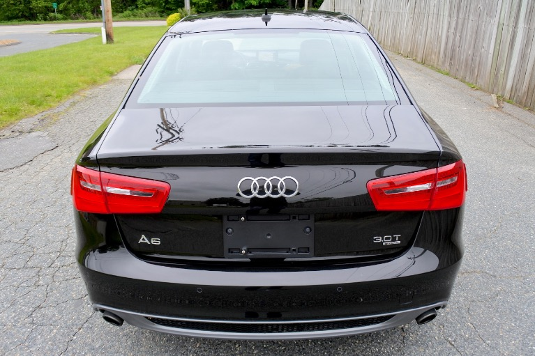 Used 2013 Audi A6 4dr Sdn quattro 3.0T Prestige Used 2013 Audi A6 4dr Sdn quattro 3.0T Prestige for sale  at Metro West Motorcars LLC in Shrewsbury MA 4