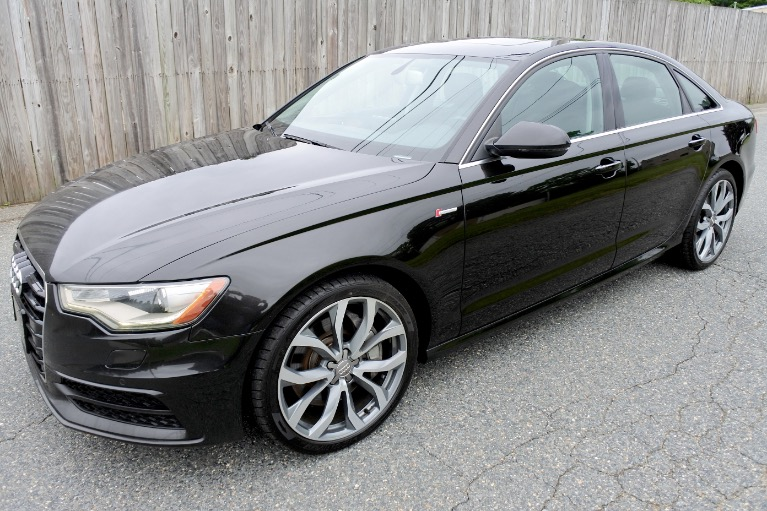 Used Used 2013 Audi A6 4dr Sdn quattro 3.0T Prestige for sale $15,880 at Metro West Motorcars LLC in Shrewsbury MA