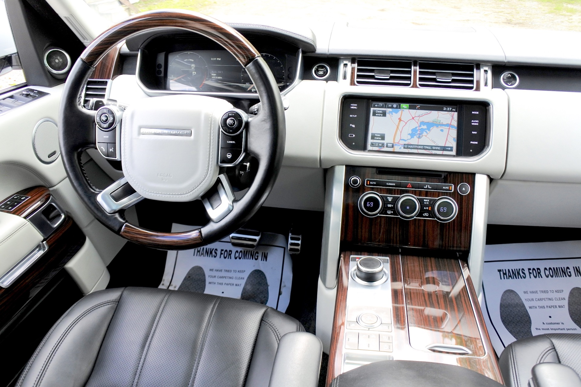 Used 2015 Land Rover Range Rover 4WD 4dr Supercharged Used 2015 Land Rover Range Rover 4WD 4dr Supercharged for sale  at Metro West Motorcars LLC in Shrewsbury MA 10